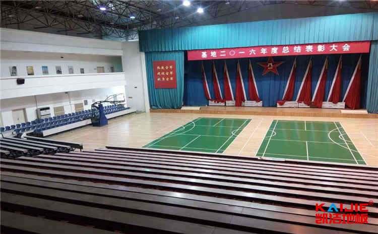 壁球馆运动木地板多少钱一平米——凯洁地板