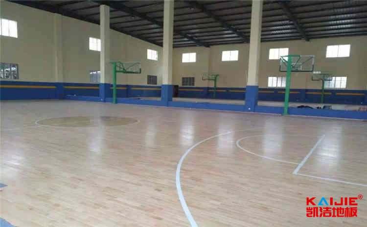 江西硬木企口体育地板怎么安装