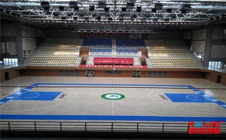 篮球运动木地板厂家哪个好——凯洁地板