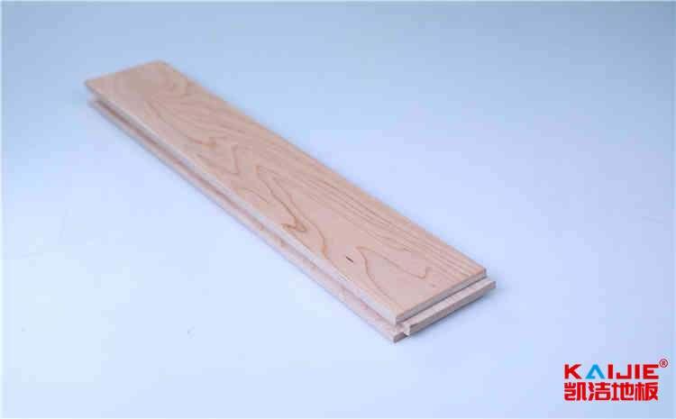 北票运动实木地板施工——凯洁地板
