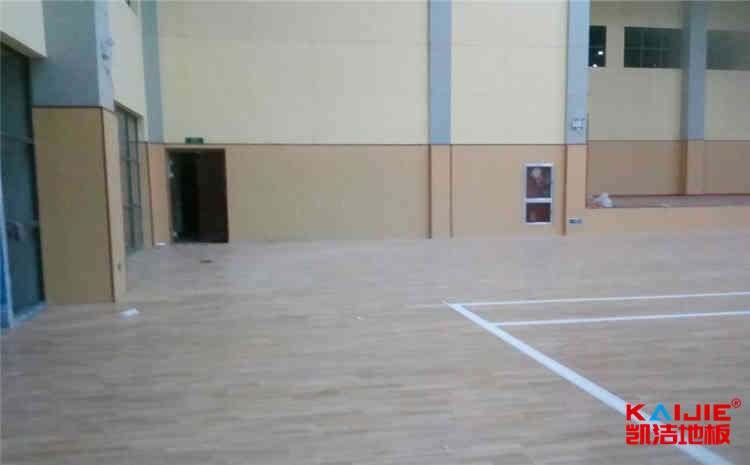 长春运动木地板生产厂家——凯洁地板