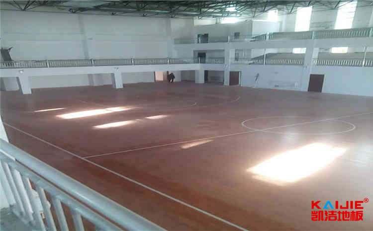 宿州篮球木地板厂家——凯洁地板